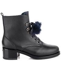 Зимние ботинки Le Silla на среднем каблуке, фото