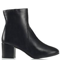 Черные ботинки Griff Italia на меху, фото