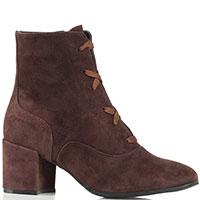 Замшевые ботинки Griff Italia коричневого цвета, фото