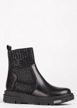 Зимние ботинки Lab Milano с текстильными чулками, фото