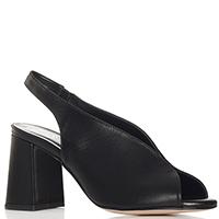 Черные босоножки Nila&Nila на высоком каблуке, фото