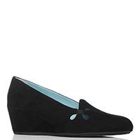 Замшевые туфли Thierry Rabotin черного цвета, фото