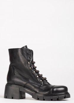 Ботинки Fru.It на низком устойчивом каблуке, фото