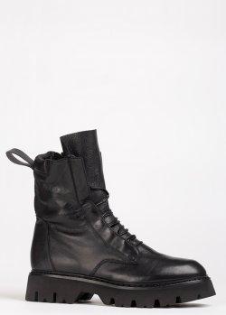 Черные ботинки Fru.It на меху, фото