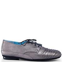 Закрытые туфли Thierry Rabotin серебристого цвета, фото