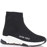 Высокие кроссовки Gianni Renzi без шнуровки, фото