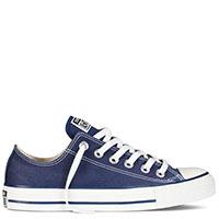Низкие синие кеды Converse Chuck Taylor на белой подошве, фото