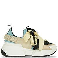 Разноцветные кроссовки Doria Maria на толстой подошве, фото