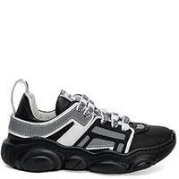 Черные кроссовки Love Moschino на толстой подошве, фото