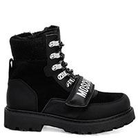 Ботинки Love Moschino в черном цвете, фото