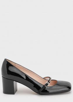 Туфли на каблуке N21 с ремешками, фото
