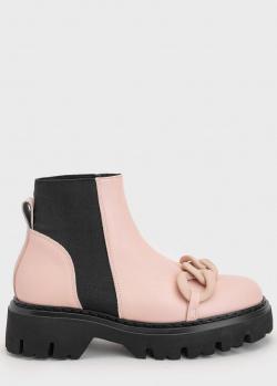Женские ботинки N21 с цепью, фото