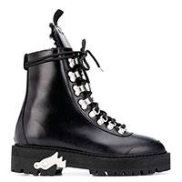 Ботинки-хайкеры Off-White черного цвета, фото