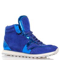 Высокие кроссовки P.A.R.O.S.H. синего цвета, фото
