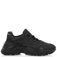 Серебристо-черные кроссовки Philipp Plein Crystal, фото