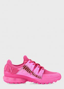 Кроссовки Philipp Plein Runner Super Champ розового цвета, фото