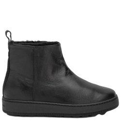Кожаные ботинки Philippe Model черного цвета, фото