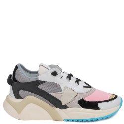 Цветные кроссовки Philippe Model с логотипом, фото