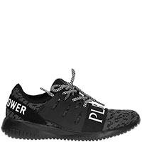 Черные кроссовки Philipp Plein Joice с логотипом, фото