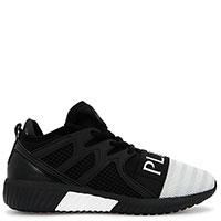 Беговые кроссовки Philipp Plein Runner Original в черном цвете, фото