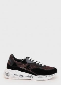 Сетчатые кроссовки Premiata черного цвета, фото