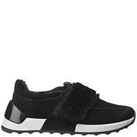 Утепленные кроссовки Alberto Guardiani черного цвета, фото