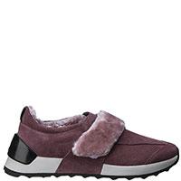 Розовые кроссовки Alberto Guardiani на меху, фото