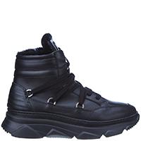 Черные ботинки Stokton на толстой подошве, фото