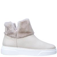 Зимние ботинки Stokton из бежевой зернистой кожи, фото