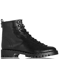 Черные ботинки The Seller с заклепками вдоль подошвы, фото