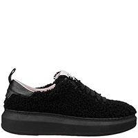 Черные кроссовки Stokton с шерстяным покрытием, фото