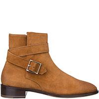 Замшевые ботинки Doucal's с пряжкой, фото