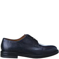 Женские туфли-дерби Doucal's синего цвета, фото