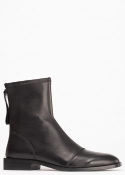 Черные ботинки Ermanno Scervino с квадратными носками, фото