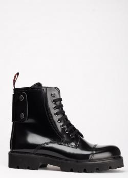 Черные ботинки Zadig & Voltaire с декором-заклепками, фото