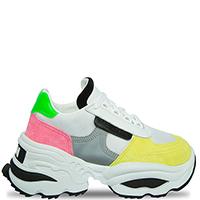 Разноцветные кроссовки Dsquared2 на массивной подошве, фото