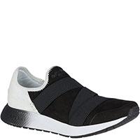 Текстильные беговые кроссовки Sperry Top-Sider черные с белым, фото