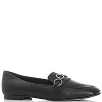 Туфли-лоферы Tosca Blu Heidi черного цвета, фото