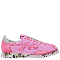 Розовые кроссовки Premiata на шнуровке, фото