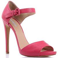 Босоножки Emporio Armani на шпильке розового цвета, фото