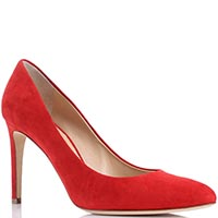 Красные туфли Giuseppe Zanotti из замши, фото