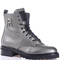Ботинки John Richmond серебристого цвета, фото