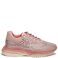 Розовые кроссовки Tosca Blu Crystal на толстой подошве, фото