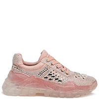 Кроссовки Twin-Set розового цвета, фото