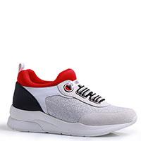 Кроссовки Liu Jo с красной вставкой, фото