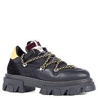 Черные кроссовки Greymer на массивной подошве, фото