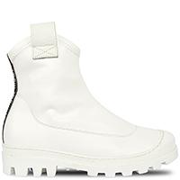 Белые ботинки Greymer на фактурной подошве, фото
