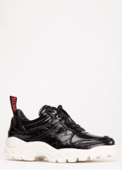 Черные кроссовки Zadig & Voltaire Blaze Crush, фото