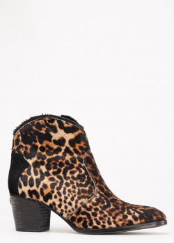 Леопардовые ботинки Zadig & Voltaire Molly Leo, фото