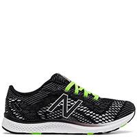 Текстильные кроссовки New Balance Agl Training черные с белым, фото